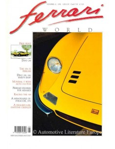 1991 FERRARI WORLD MAGAZINE 12 ENGLISH