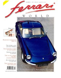 1991 FERRARI WORLD MAGAZINE 11 ENGLISH