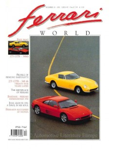 1991 FERRARI WORLD MAGAZINE 10 ENGLISH