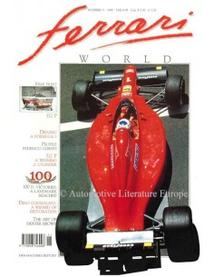 1990 FERRARI WORLD MAGAZINE 9 ENGLISH
