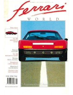 1990 FERRARI WORLD MAGAZINE 8 ENGLISH