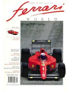 1990 FERRARI WORLD MAGAZIN 7 ENGLISCH