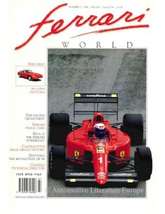 1990 FERRARI WORLD MAGAZINE 7 ENGLISH