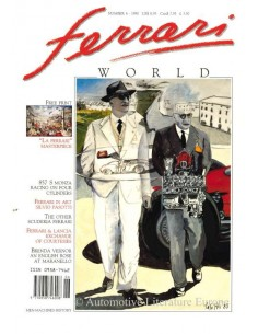1990 FERRARI WORLD MAGAZINE 6 ENGLISH