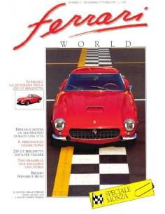 1989 FERRARI WORLD MAGAZINE 3 ITALIAN