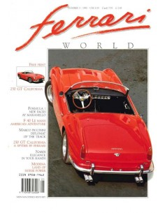 1990 FERRARI WORLD MAGAZINE 5 ENGLISH