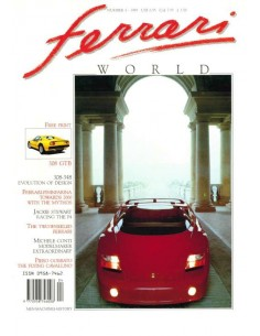 1989 FERRARI WORLD MAGAZIN 4 ENGLISCH