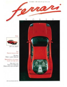 1989 FERRARI WORLD MAGAZIN 1 ENGLISCH