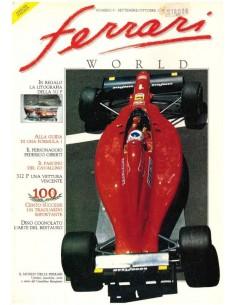1990 FERRARI WORLD MAGAZIN 9 ITALIENISCH