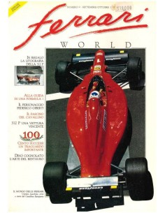 1990 FERRARI WORLD MAGAZINE 9 ITALIAN