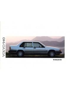 1991 VOLVO 940 BROCHURE ENGLISH