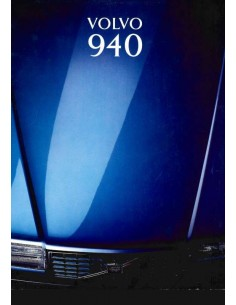 1993 VOLVO 940 BROCHURE DUTCH