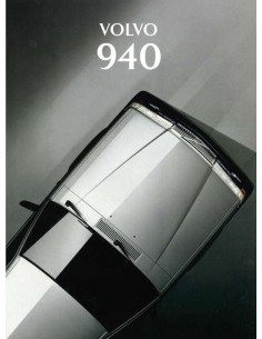 1994 VOLVO 940 BROCHURE DUTCH
