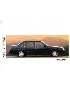 1991 VOLVO 960 BROCHURE NEDERLANDS