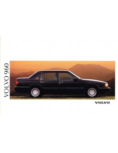 1991 VOLVO 960 BROCHURE ENGLISH