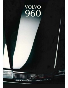 1993 VOLVO 960 BROCHURE DUTCH