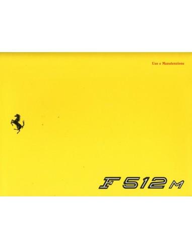 1994 FERRARI F512M INSTRUCTIEBOEKJE 883/94