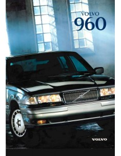 1997 VOLVO 960 BROCHURE DUTCH