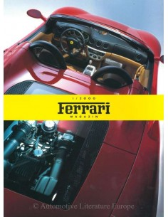 2000 FERRARI MAGAZINE (DE) GERMAN