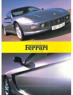 1998 FERRARI MAGAZINE (DE) GERMAN