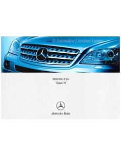 2006 MERCEDES BENZ M CLASS OWNERS MANUAL ITALIAN