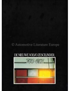 1982 VOLVO 760 GLE PROSPEKT NIEDERLÄNDISCH