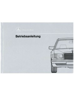 1989 MERCEDES BENZ S CLASS OWNERS MANUAL GERMAN