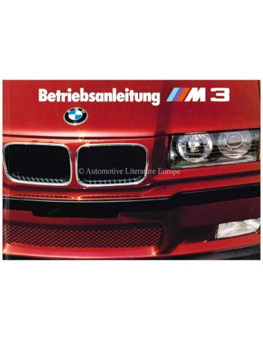 1992 BMW M3 COUPE OWNERS MANUAL GERMAN