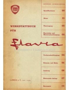 1963 LANCIA FLAVIA SEDAN WERKPLAATSHANDBOEK DUITS