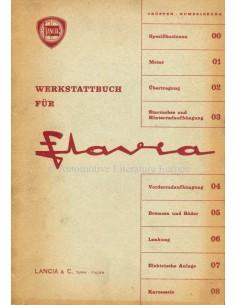 1963 LANCIA SALOON SERVICE MANUAL GERMAN