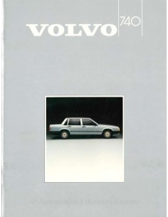 1985 VOLVO 740 BROCHURE DUTCH