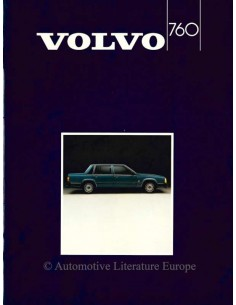 1985 VOLVO 760 BROCHURE DUTCH