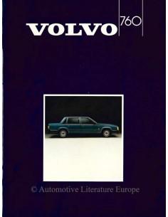 1985 VOLVO 760 PROSPEKT NIEDERLÄNDISCH