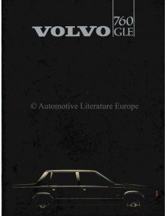 1982 VOLVO 760 GLE BROCHURE DUTCH