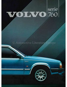 1984 VOLVO 760 BROCHURE DUTCH