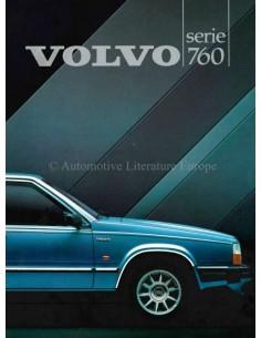 1984 VOLVO 760 PROSPEKT NIEDERLÄNDISCH