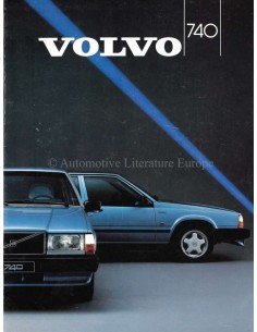 1987 VOLVO 740 BROCHURE DUTCH