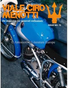 1997 MASERATI VIALE CIRO MENOTTI MAGAZINE ENGLISH