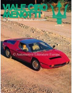1994 MASERATI VIALE CIRO MENOTTI MAGAZINE ENGLISH