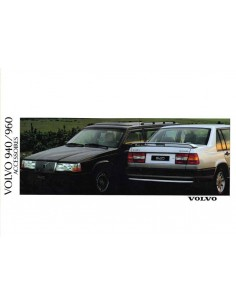1991 VOLVO 940 960 ACCESSORIES BROCHURE DUTCH