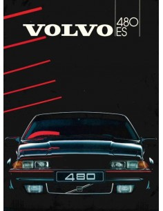 1986 VOLVO 480 BROCHURE DUTCH