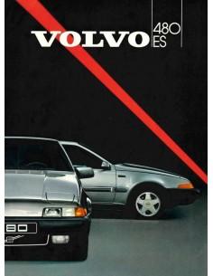 1987 VOLVO 480 BROCHURE DUTCH