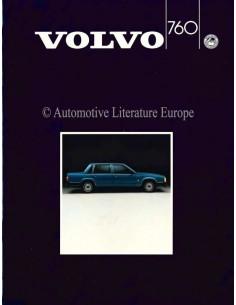 1985 VOLVO 760 PROSPEKT ENGLISCH