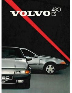 1986 VOLVO 480 BROCHURE DUTCH