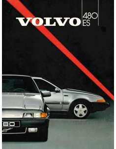 1986 VOLVO 480 BROCHURE FRENCH