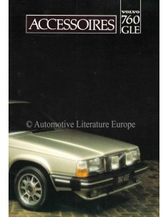 1982 VOLVO 760 GLE ACCESSORIES BROCHURE DUTCH