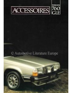 1982 VOLVO 760 GLE ZUBEHÖR PROSPEKT NIEDERLÄNDISCH