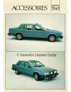 1983 VOLVO 760 ZUBEHÖR PROSPEKT NIEDERLÄNDISCH