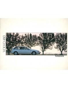 1988 VOLVO 480 PROSPEKT NIEDERLANDISCH