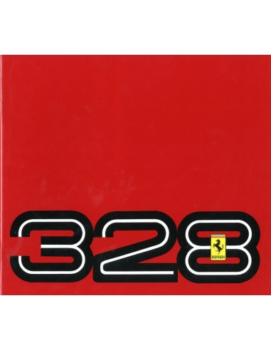 1985 FERRARI 328 GTB & GTS BROCHURE 394/85